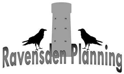 Ravensden Development Logo